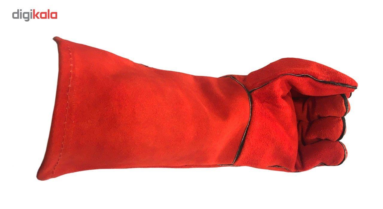 دستکش ایمنی جوشکاری  بارلو مدل RW790 بسته 10 جفتی main 1 2