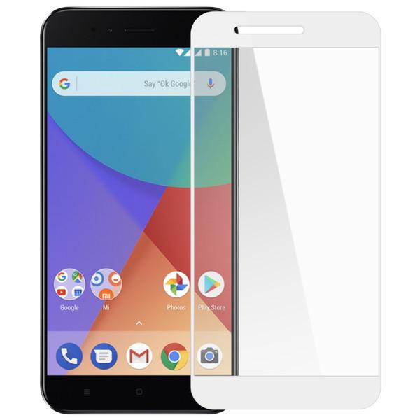 محافظ صفحه نمایش شیشه ای تمپرد مدل Full Cover مناسب برای گوشی موبایل شیائومی Mi A1