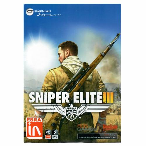 بازی کامپیوتری Sniper Elite 3 مخصوص PC