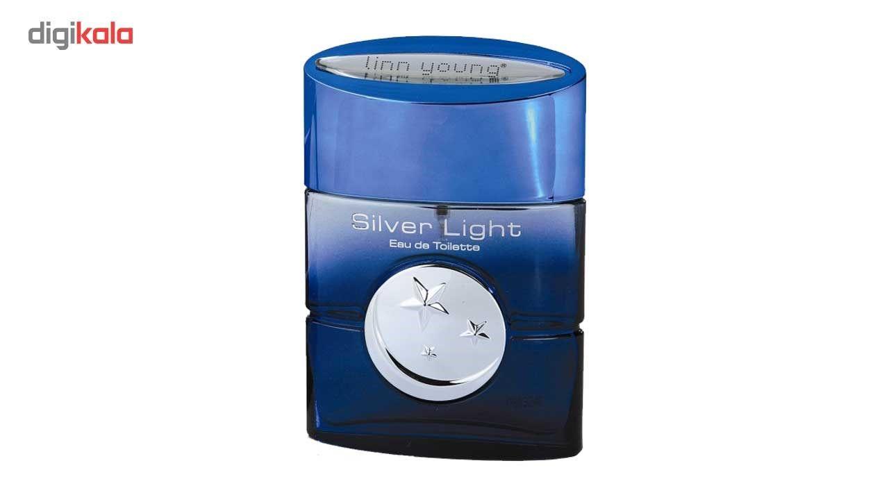 ادوتویلت مردانه لین یانگ مدل Silver Light حجم 100میلی لیتر -  - 3