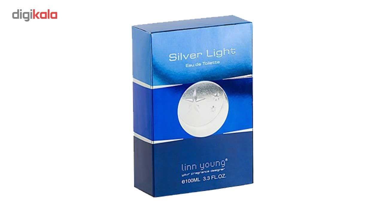 ادوتویلت مردانه لین یانگ مدل Silver Light حجم 100میلی لیتر -  - 4