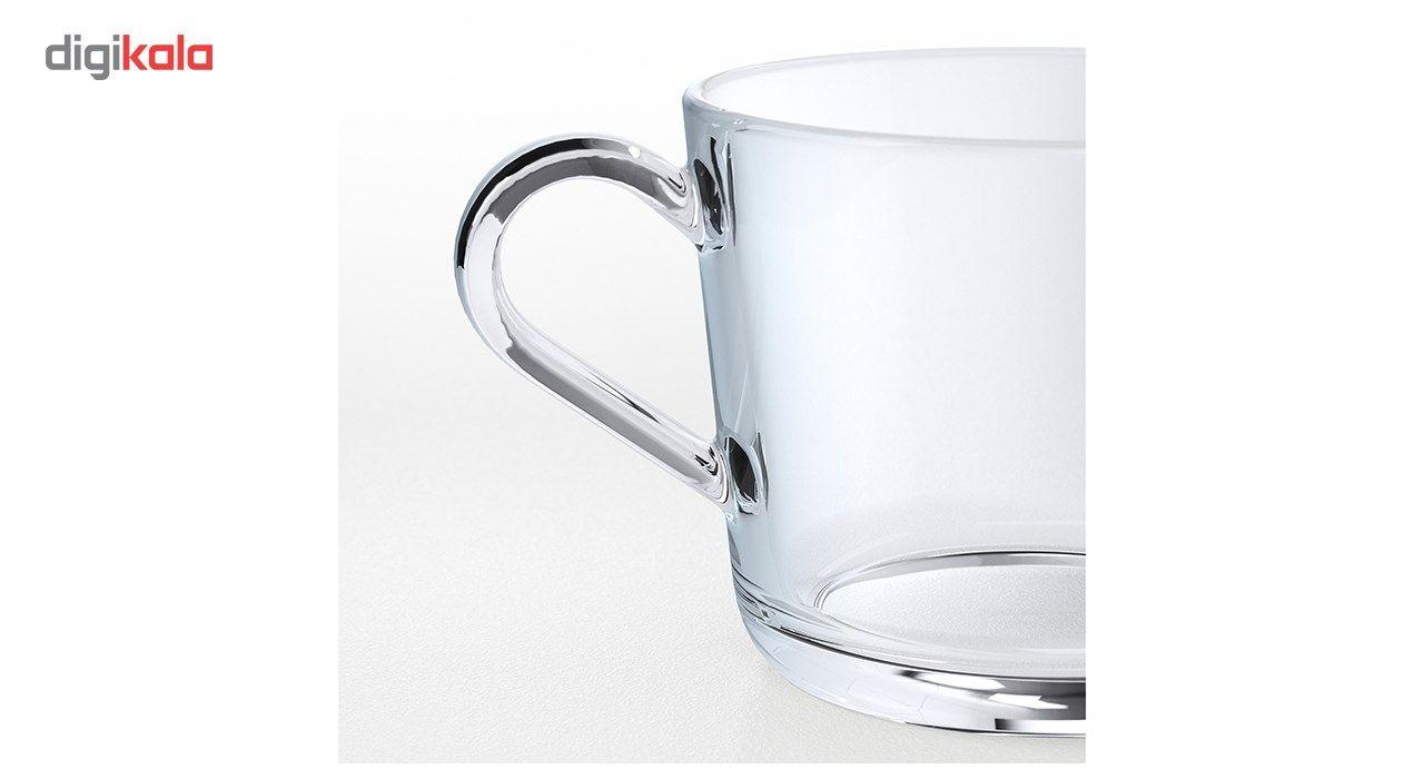 فنجان چای خوری Ikea مدل 365 بسته 6 عددی main 1 2
