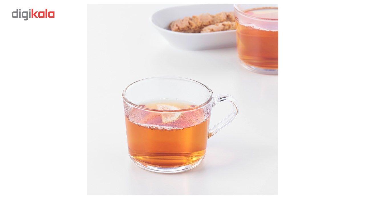 فنجان چای خوری Ikea مدل 365 بسته 6 عددی main 1 3