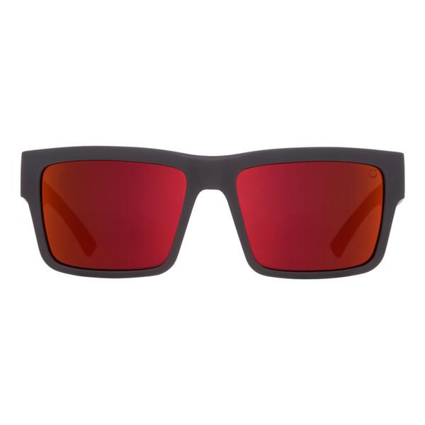 عینک آفتابی اسپای سری Montana مدل Soft Matte Black Red Fade Happy Gray Green Red Flash