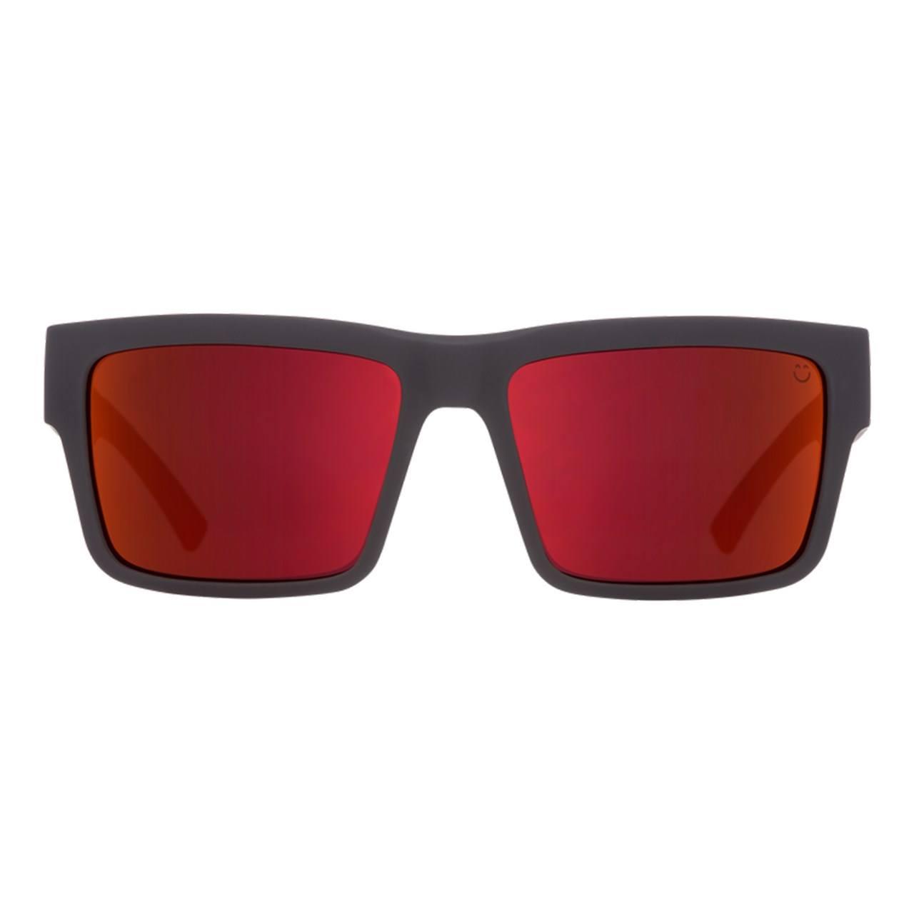 عینک آفتابی اسپای سری Montana مدل Soft Matte Black Red Fade Happy Gray Green Red Flash -  - 1