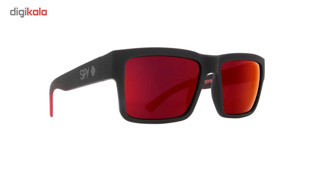 عینک آفتابی اسپای سری Montana مدل Soft Matte Black Red Fade Happy Gray Green Red Flash -  - 2