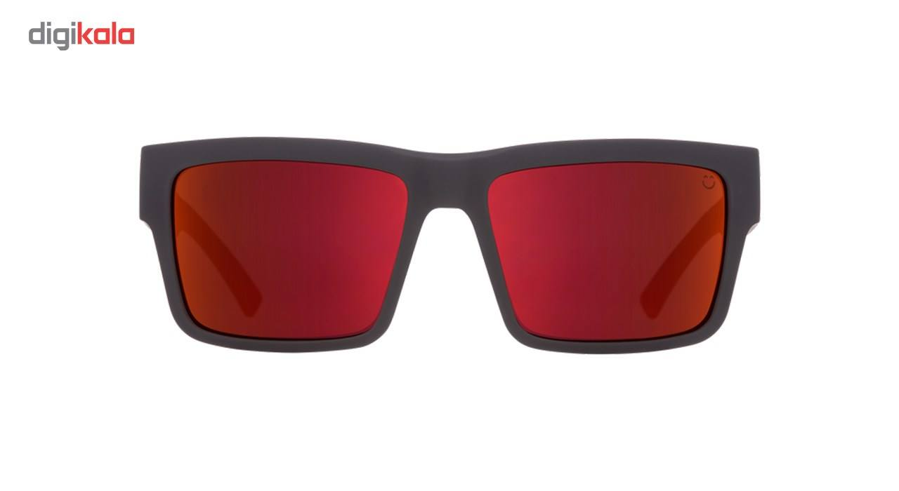 عینک آفتابی اسپای سری Montana مدل Soft Matte Black Red Fade Happy Gray Green Red Flash -  - 4