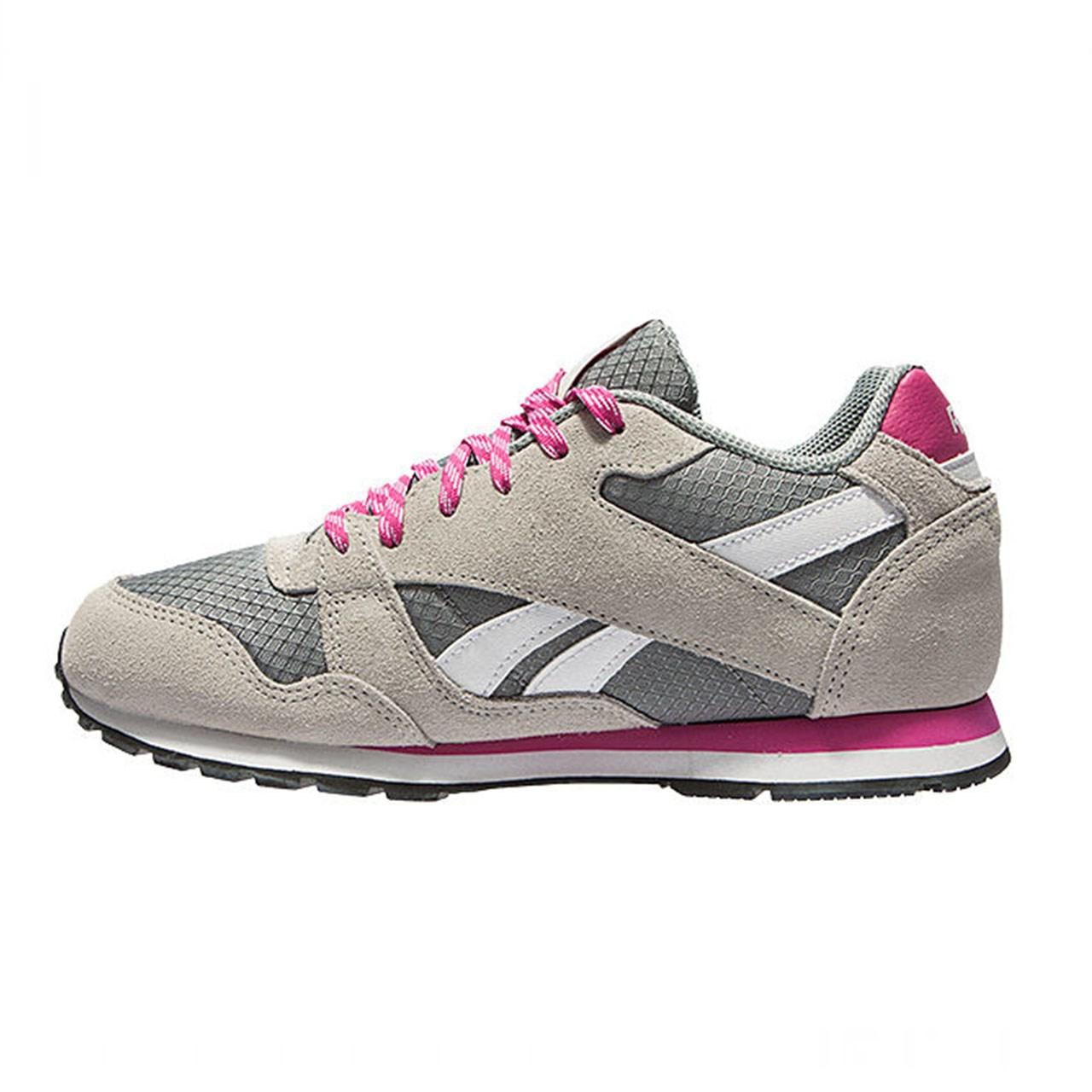 کفش مخصوص دویدن زنانه ریباک مدل Leather Pop