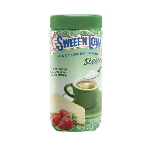 قوطی پودر شیرین کننده سوئیت اند لو مدل Stevia وزن 40 گرمی