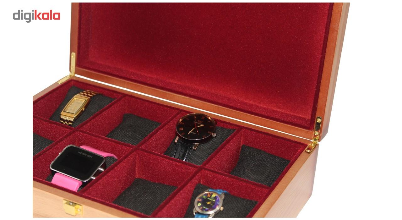 جعبه چوبی ساعت لوکس باکس کد 271