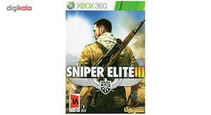 بازی Sniper Elite III مخصوص ایکس باکس 360  Sniper Elite III For XBox 360