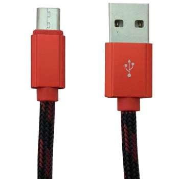 کابل تبدیل USB به microUSB الدینیو مدل LS23 به طول 1 متر