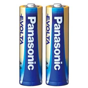 باتری قلمی پاناسونیک مدل High-Tech Alkaline Evolta بسته 2 عددی