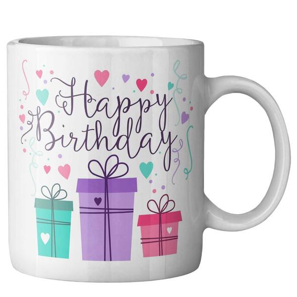 ماگ ماگستان مدل تولد مبارک جعبه کادویی