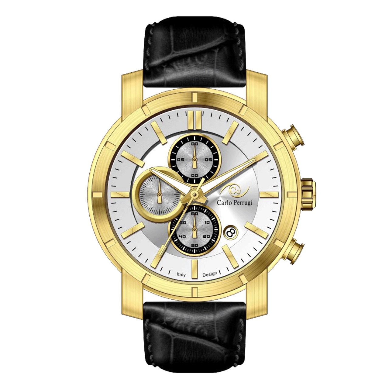ساعت مچی عقربه ای مردانه کارلو پروجی مدل CG2052-4 12