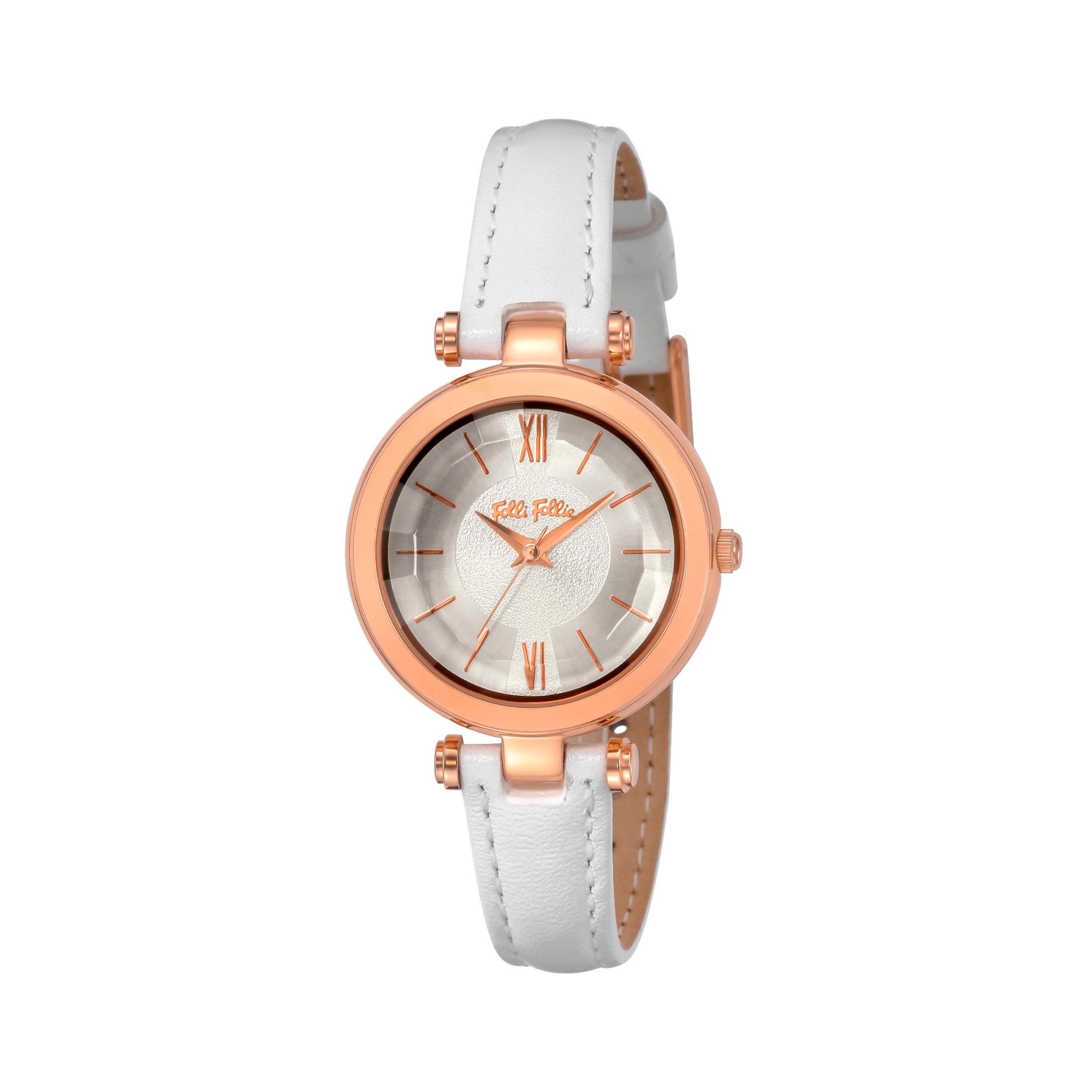 خرید اینترنتی                     ساعت مچی عقربه ای زنانه فولی فولیه مدل WF16R009SPS-WH (بدون جعبه اورجینال)