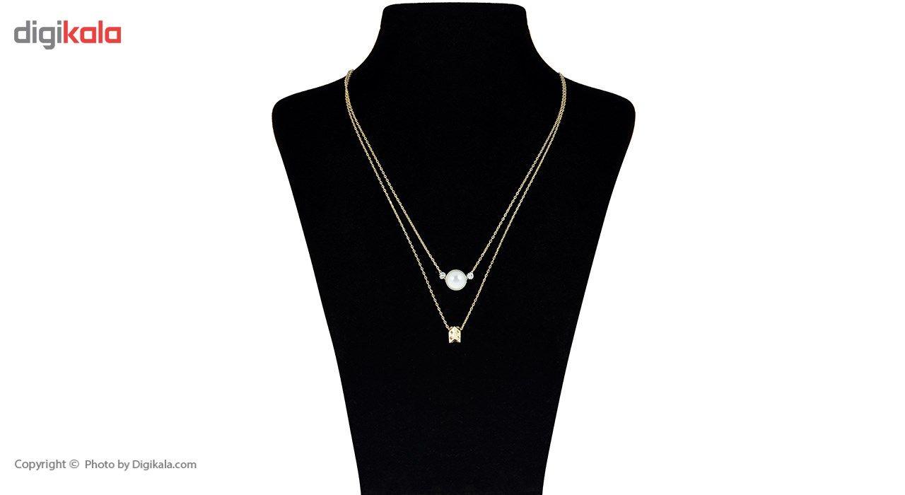 گردنبند طلا 18 عیار ماهک مدل MM0676 - مایا ماهک -  - 2