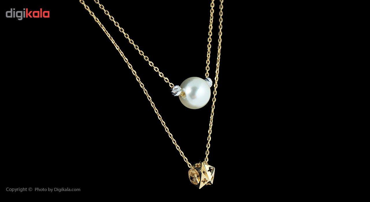 گردنبند طلا 18 عیار ماهک مدل MM0676 - مایا ماهک -  - 3