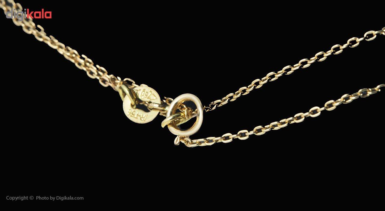 گردنبند طلا 18 عیار ماهک مدل MM0676 - مایا ماهک -  - 1