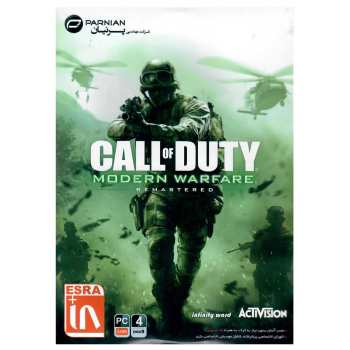 بازی کامپیوتری Call of Duty Modern Warfare Remasterd  مخصوص PC