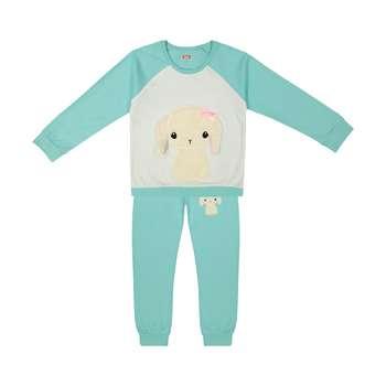 ست تی شرت و شلوار دخترانه مادر مدل 304-54