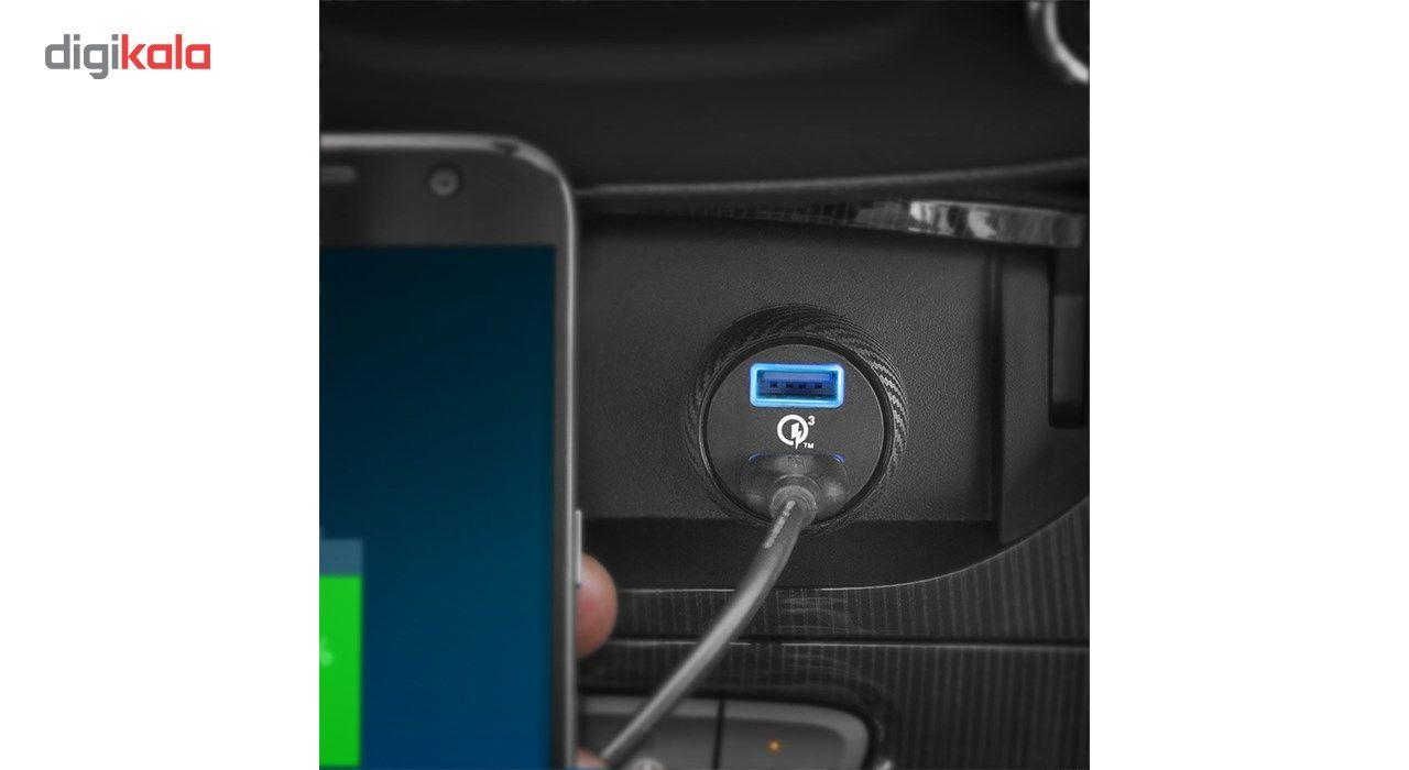 شارژر فندکی انکر مدل A2228 PowerDrive Speed 2 Ports With Quick Charge 3.0 main 1 6