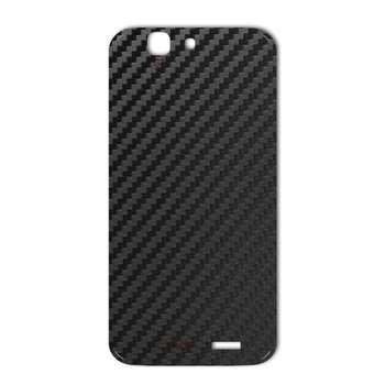 برچسب پوششی ماهوت مدل Carbon-fiber Texture مناسب برای گوشی  Huawei Ascend G7
