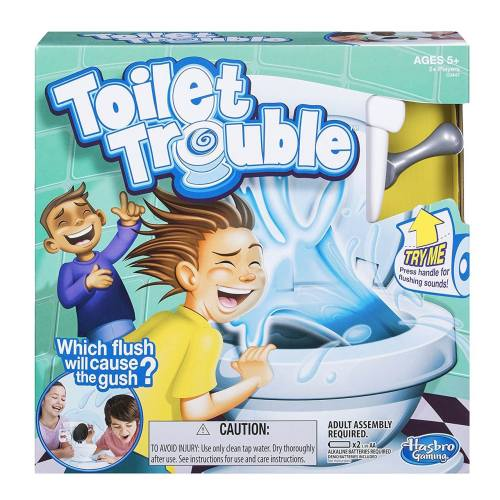 ابزار شوخی هاسبرو مدل Toilet Trouble