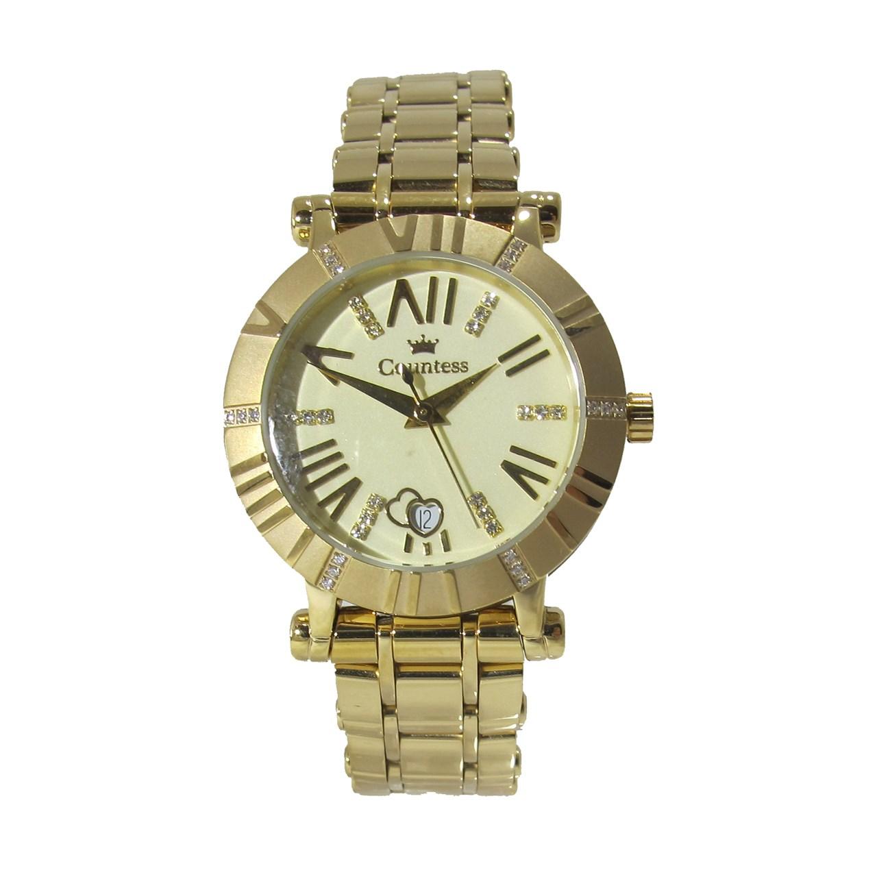 ساعت مچی عقربه ای زنانه کنتس مدل CTS14602GA