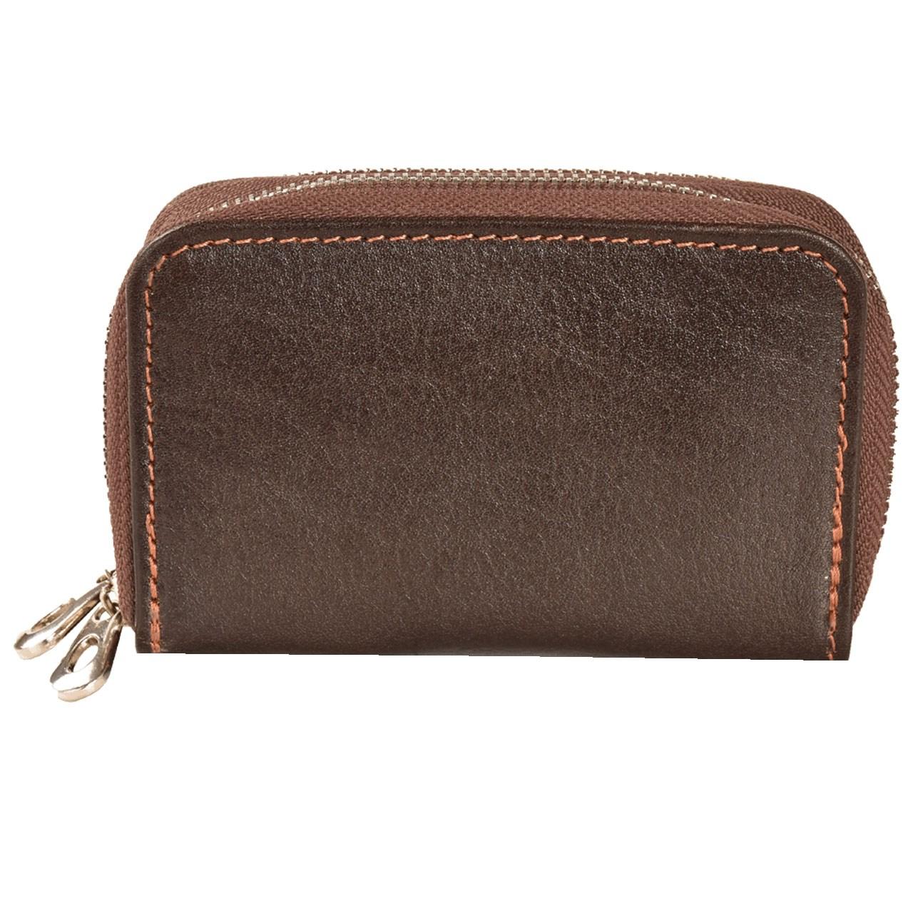 کیف کارت و جاکلیدی چرمی کهن چرم مدل CH26-15