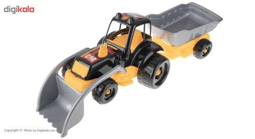 ماشین بازی زرین تویز مدل Village Tractor H4