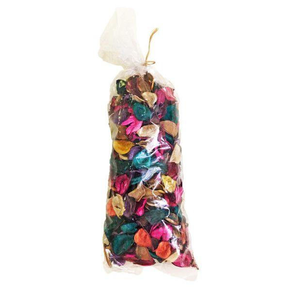 گل خشک بسته بندی مدل رنگارنگ
