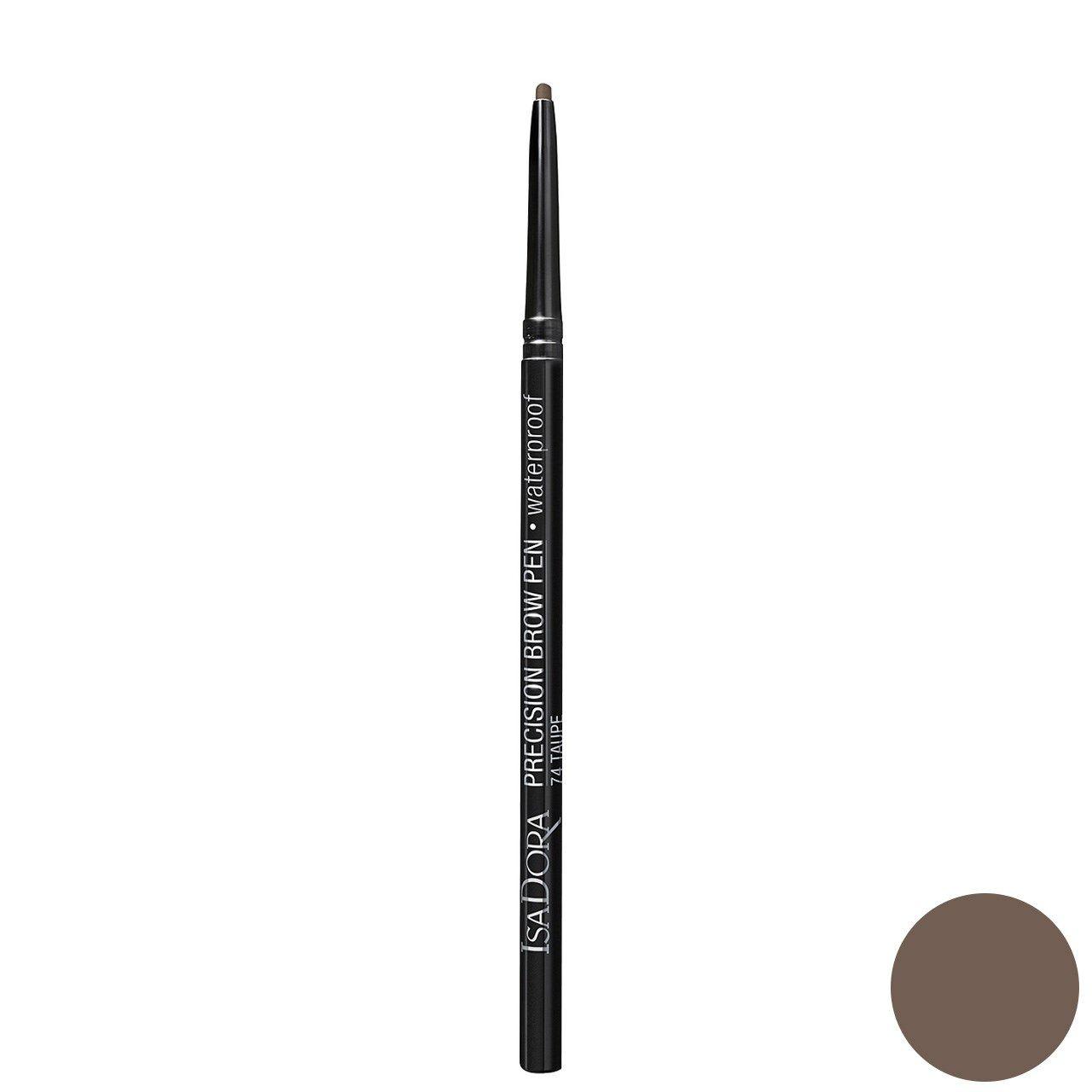 مداد ابرو ایزادورا مدل Precision Brow Pen شماره 74 -  - 1