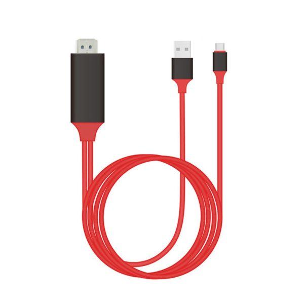 کابل تبدیل UCB-C به HDMI ارلدام مدل ET-WS8C به طول 2 متر
