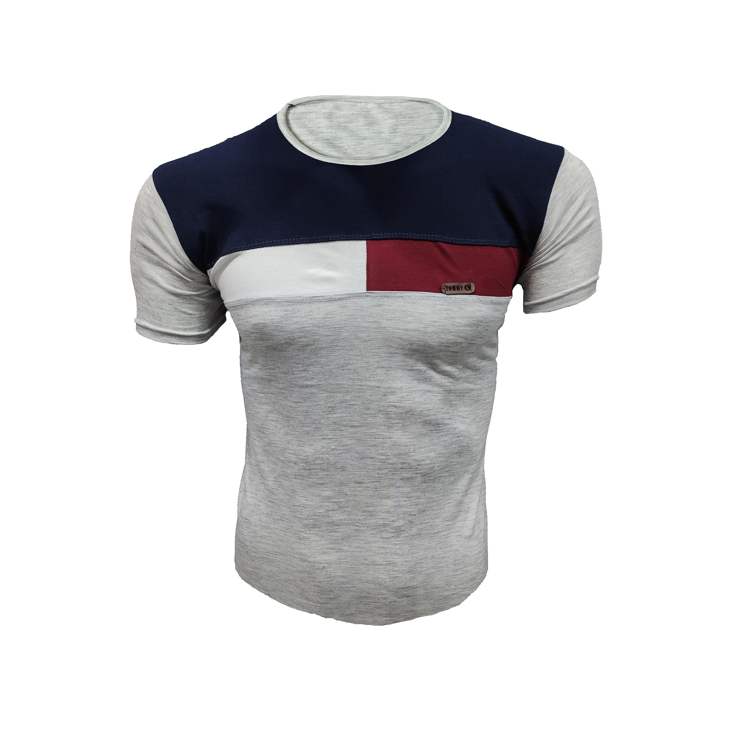 تی شرت آستین کوتاه مردانه مدل MTOMR                     غیر اصل