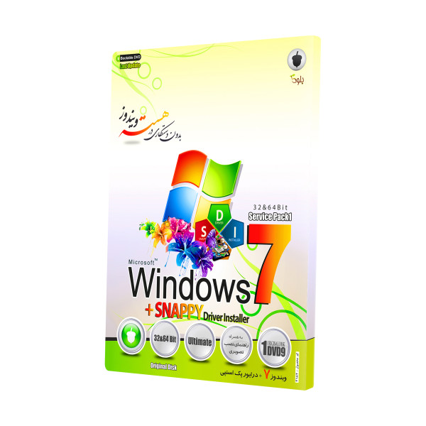 سیستم عامل Windows 7 به همراه Snappy Driver Installer نشر بلوط