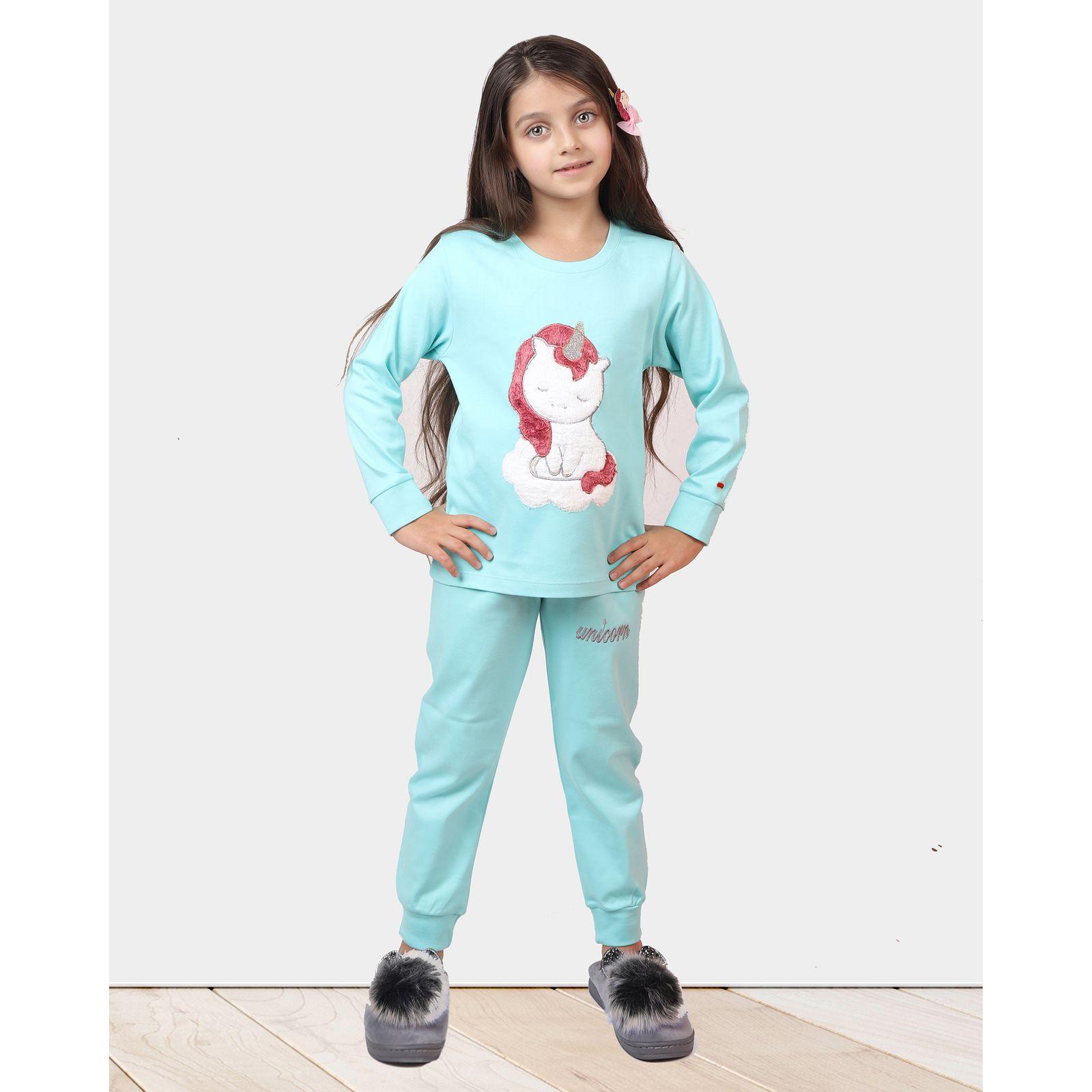 ست تی شرت و شلوار دخترانه مادر مدل 303-54 main 1 10