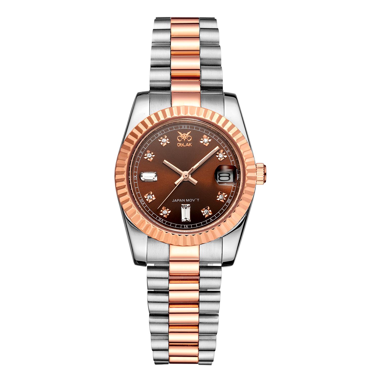 ساعت مچی عقربه ای زنانه اوبلاک مدل 72691