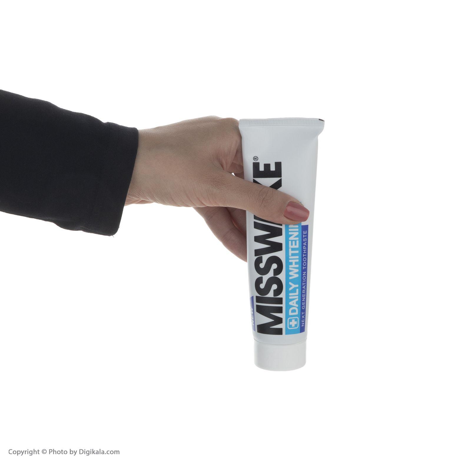 خمیر دندان میسویک مدل Daily Whitening حجم 100 میلی لیتر -  - 3