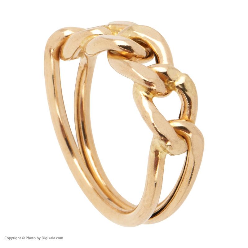 انگشتر طلا 18 عیار زنانه مدل D051