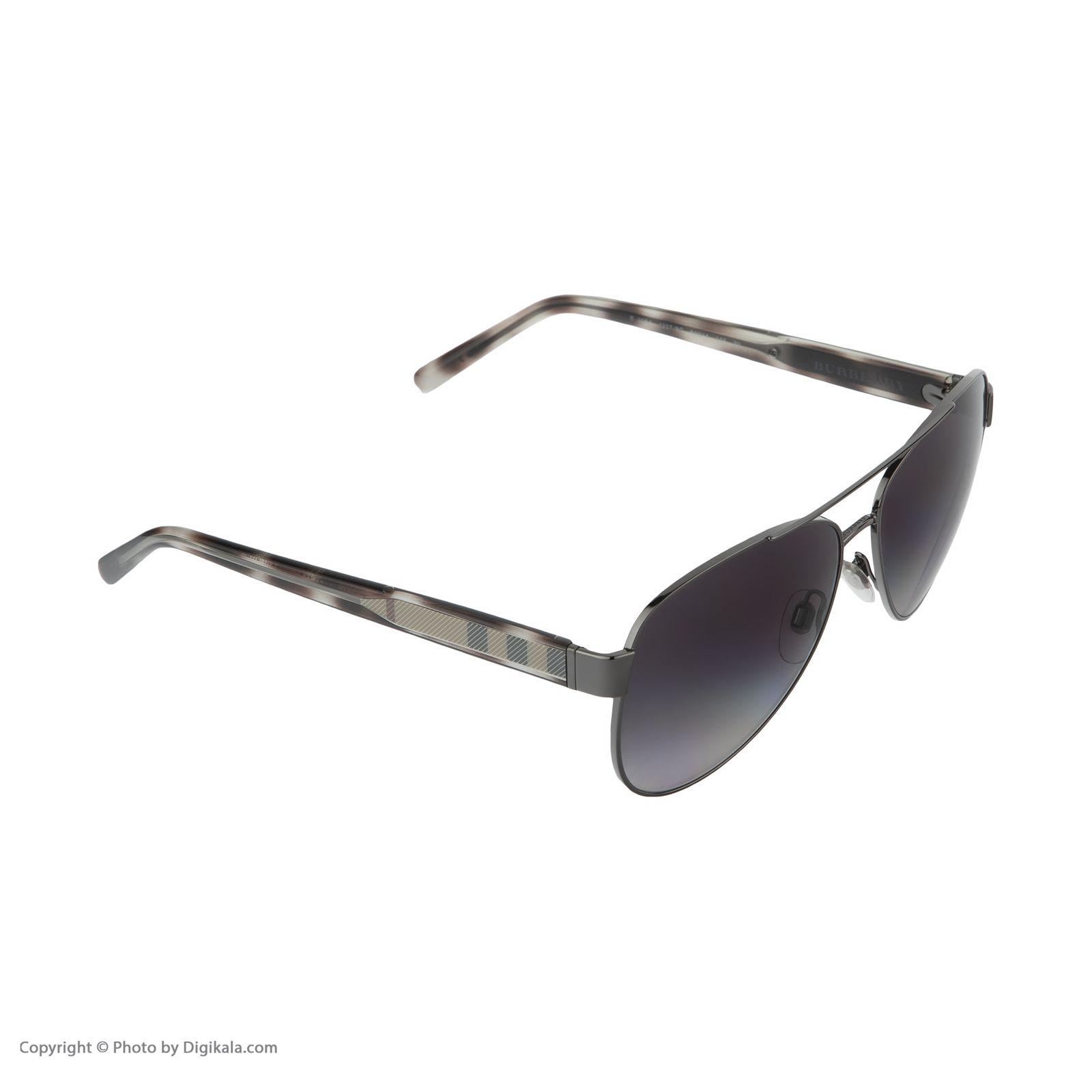 عینک آفتابی زنانه بربری مدل BE 3084S 12278G 60 -  - 6