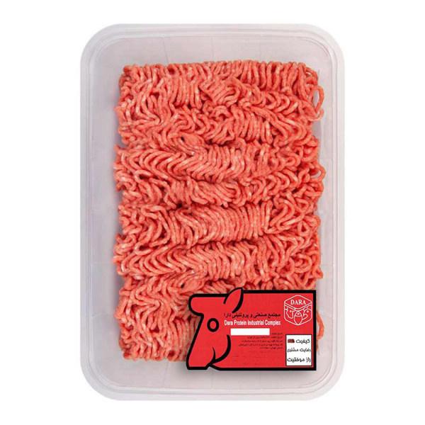 گوشت چرخ کرده گوساله ممتاز دارا - 1 کیلوگرم