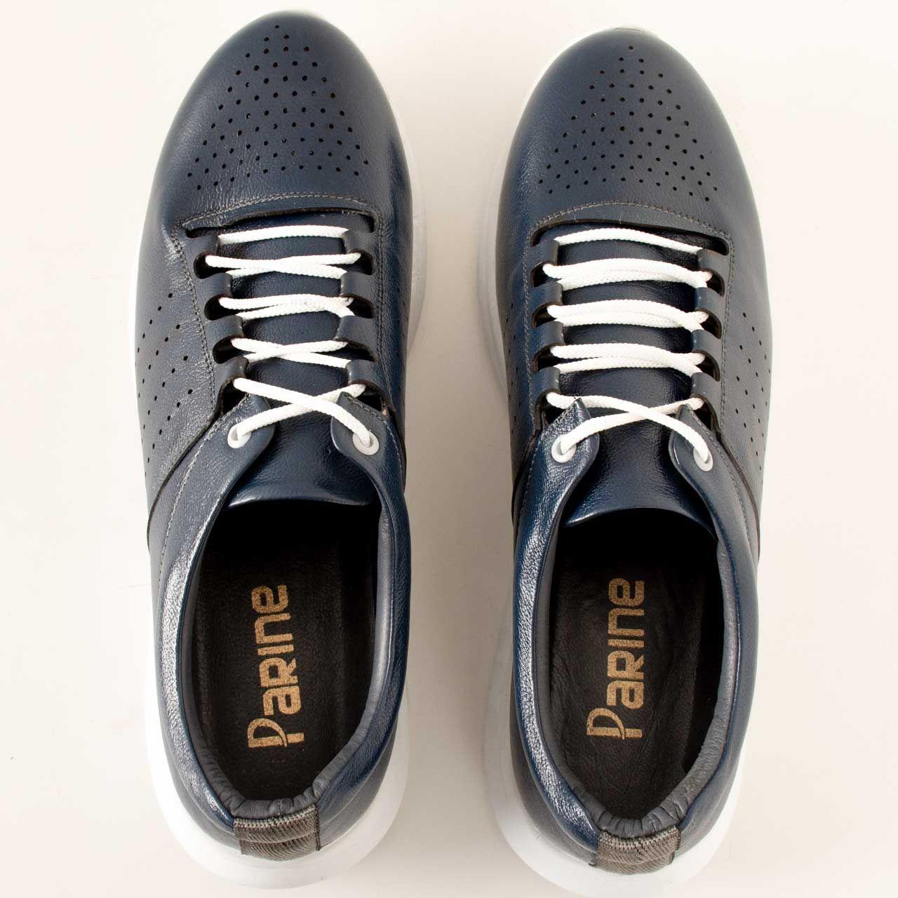 کفش روزمره مردانه پارینه چرم مدل SHO176-11 -  - 5