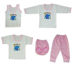 ست 5 تکه لباس نوزادی کد 555SORF