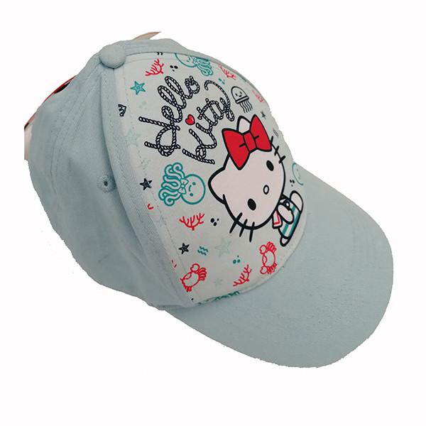 کلاه کپ دخترانه هلو کیتی مدل 3918313