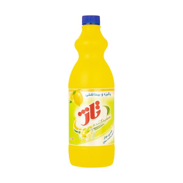 مایع سفید کننده تاژ با رایحه لیمو مقدار 1050 گرم