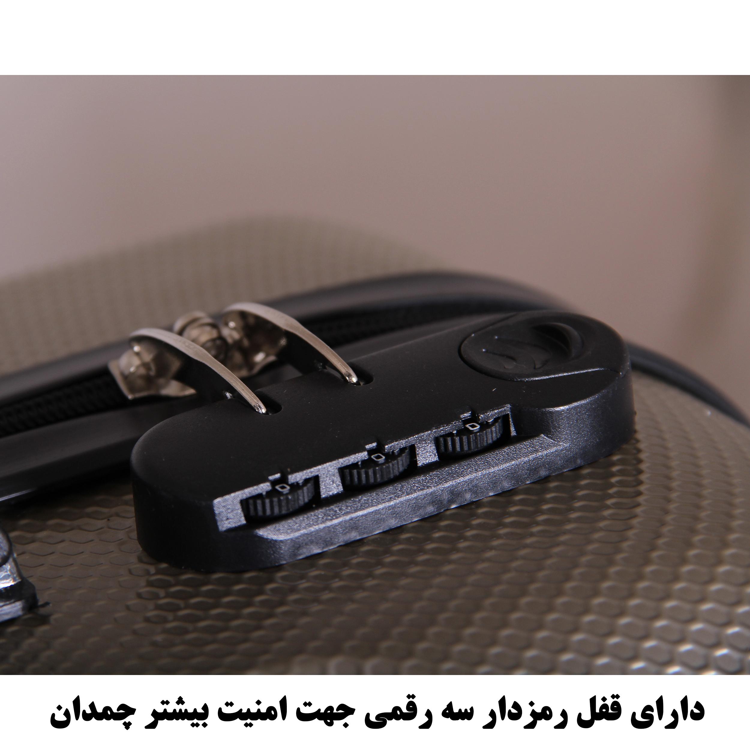 مجموعه چهار عددی چمدان اسپرت من مدل NS001 thumb 28