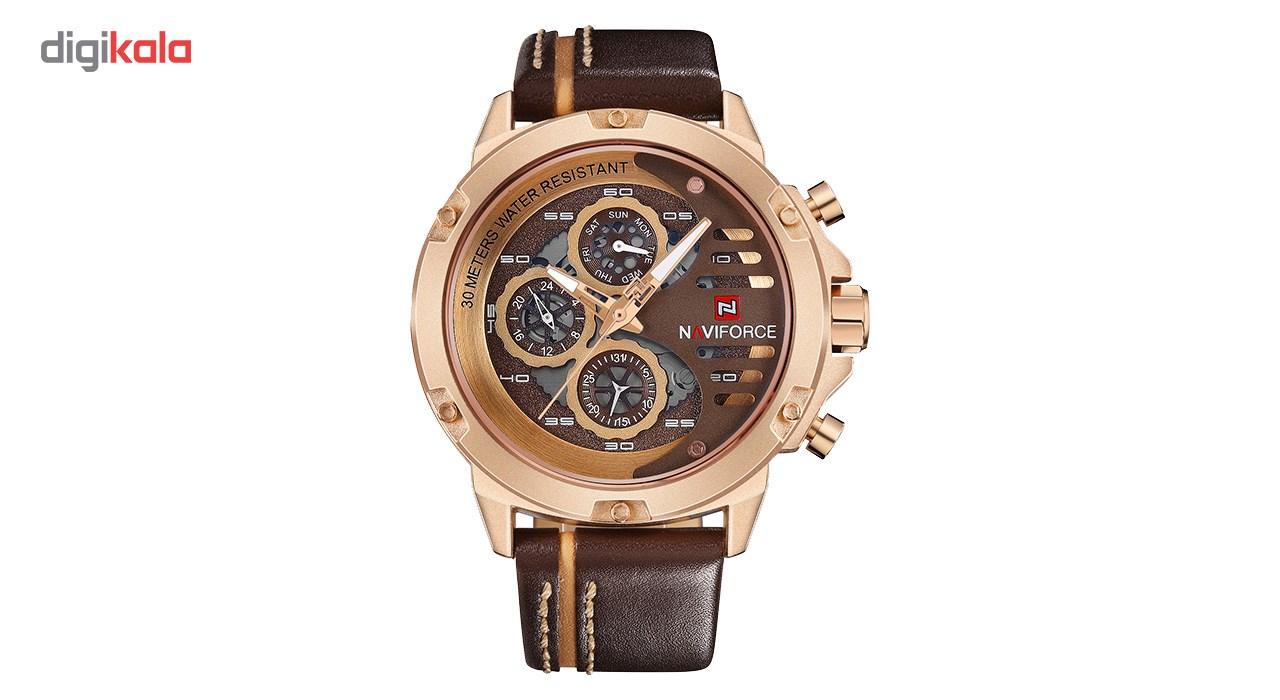 خرید ساعت مچی عقربه ای مردانه نیوی فورس مدل NF9110M/RGCEBN