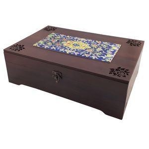 جعبه چای کیسه ای عشقی مدل هفت رنگ