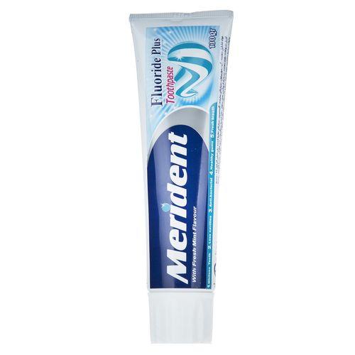 خمیر دندان سفید کننده مریدنت سری Fluoride Plus مدل Mint مقدار 130گرم